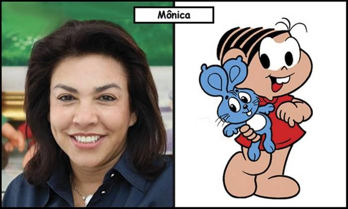 Mônica Spada e Sousa inspirou a protagonista Mônica Foto: Divulgação