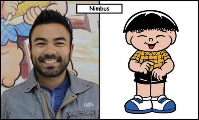 Mauro Takeda e Sousa inspirou o peronsagem Nimbus Foto: Divulgação
