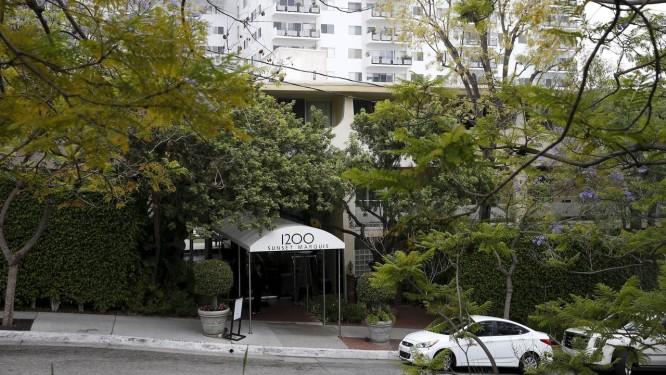 Hotel em que Dennis Sheehan, empresário do U2, foi encontrado morto Foto: PATRICK T. FALLON / REUTERS
