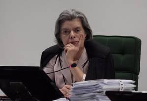 Ministra Cármen Lúcia Foto: Agência O Globo / André Coelho