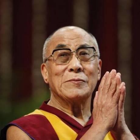 Dalai Lama vai ministrar palestra no Glastonbury 2015 Foto: Danish Siddiqui / Reuters