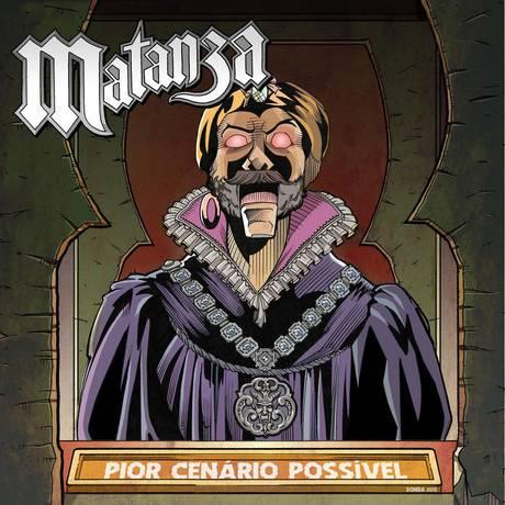Capa do novo álbum do Matanza Foto: Reprodução