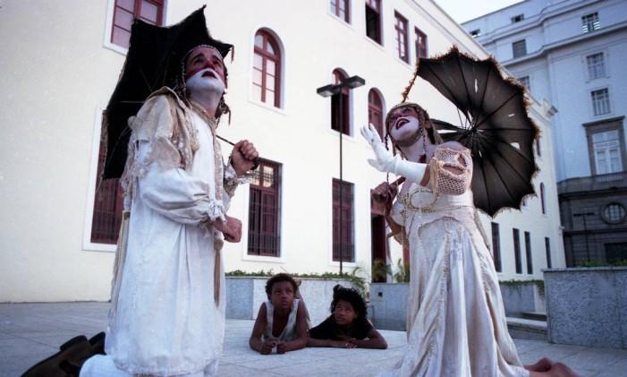 Grupo Galpão encena Romeu e Julieta no Espaço Cultural dos Correios Foto: Agência O Globo