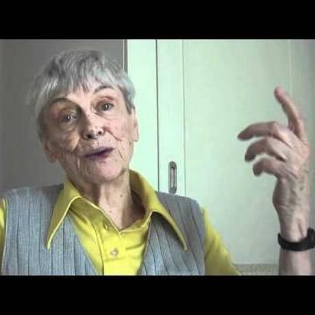 A escritora Ana Hatherly Foto: Reprodução Youtube