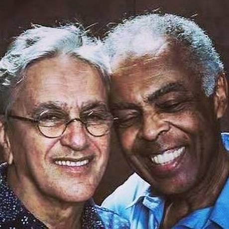 Caetano Veloso e Gilberto Gil Foto: Divulgação