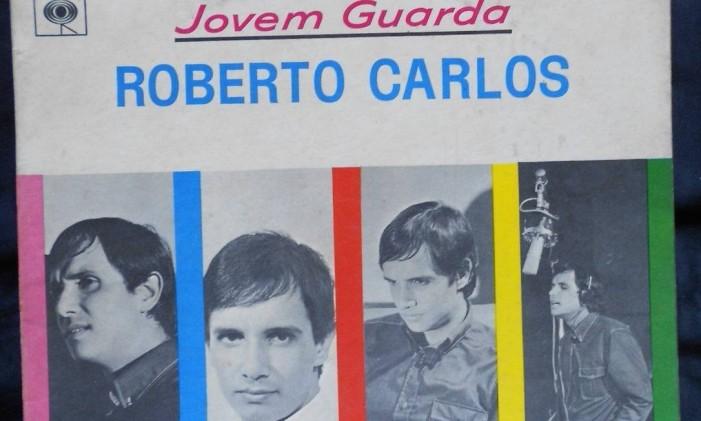Capa do disco 'Jovem Guarda' (1965), de Roberto Carlos Foto: Reprodução