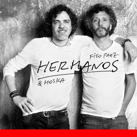Capa do disco 'Hermanos', de Fito Paez & Moska Foto: Divulgação