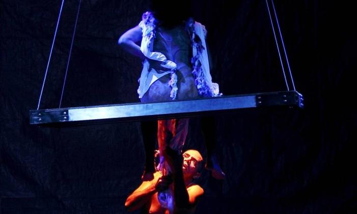 Cena de 'Adão e Eva' Foto: Helder Doca/Divulgação