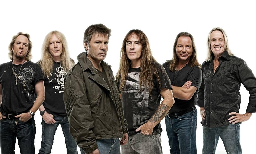 Iron Maiden confirma shows no Brasil em março
