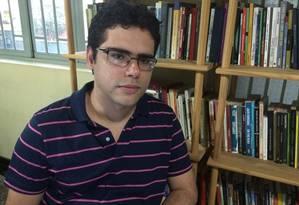 Eduardo Sabino, vencedor do concurso Brasil em Prosa Foto: Divulgação / Divulgação