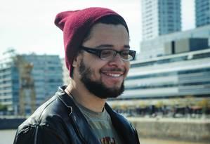 Bruno Ribeiro, um dos autores vencedores do concurso Brasil em Prosa Foto: Divulgação