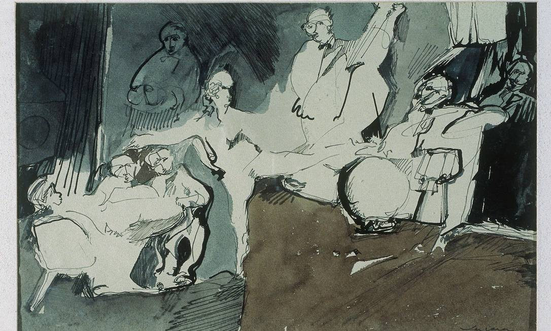 Obra de Carlos Vergara em exposição no MAM Foto: Divulgação