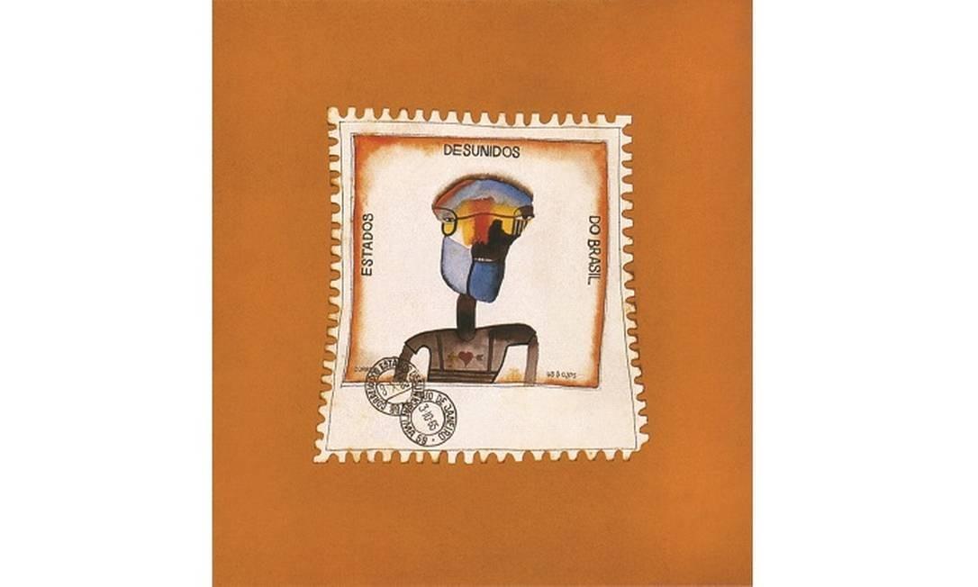 Obra 'Estados Deunidos do Brasil', de Roberto Magalhães está na Pinakotheke Cultural Foto: Divulgação/Jaime Aciole
