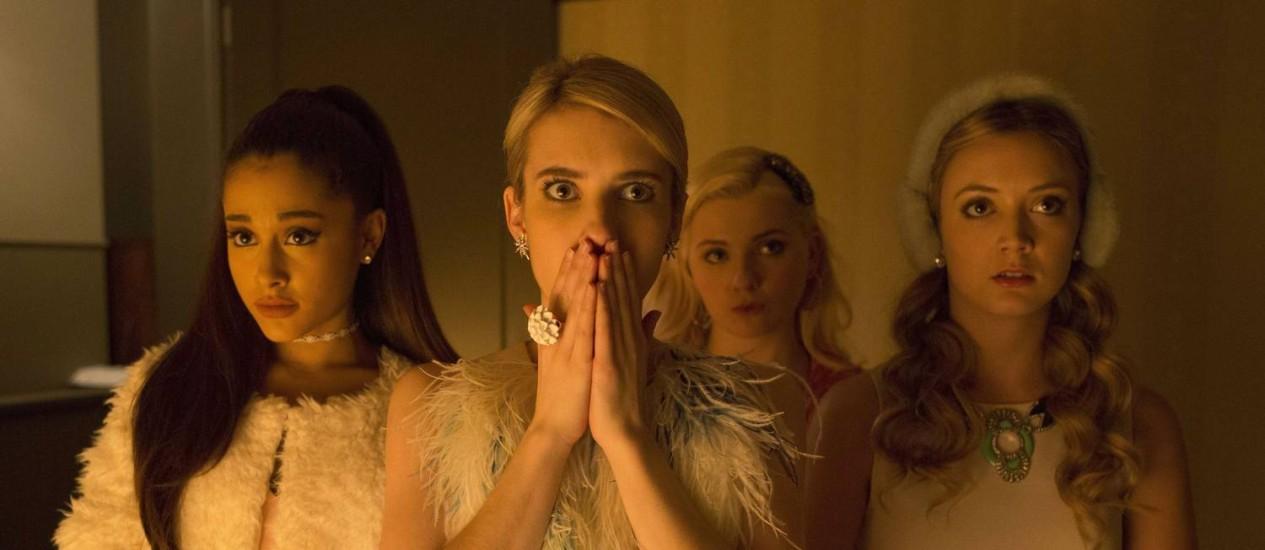 Cena de 'Scream queens' Foto: Fox/Divulgação / Steve Dietl / Courtesy of Sony P