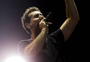 System of a Down no palco Mundo Foto: Guito Moreto / Agência O Globo