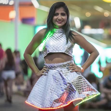 A professora recifense Viviane Silva, de 23 anos Foto: Leo Martins / Agência O Globo