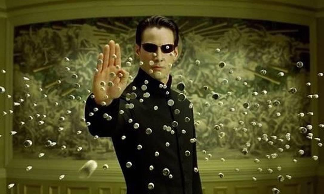 Cena do filme 'Matrix' Foto: Reprodução