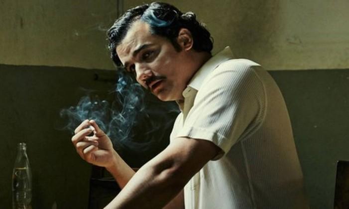 Wagner Moura em 'Narcos' Foto: Divulgação