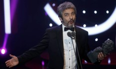O ator Ricardo Darin vence o prêmio Goya Foto: SUSANA VERA / REUTERS