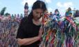 Em 'Espaço além', de Marco del Fiol, Marina Abramovic viaja pelo Brasil em busca de cura pessoal e inspiração artística Foto: Marco Anelli / Divulgação