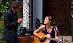 Keira Knightley com Mark Ruffalo no filme 'Mesmo se nada der certo' Foto: Divulgação