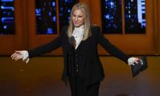 A cantora e atriz Barbra Streisand Foto: Evan Agostini / AP