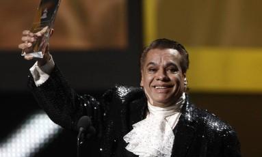 Em 2009, Juan Gabriel é homenageado no Grammy Latino Foto: Matt Sayles / AP