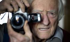 O fotógrafo Marc Riboud Foto: MARTIN BUREAU / AFP