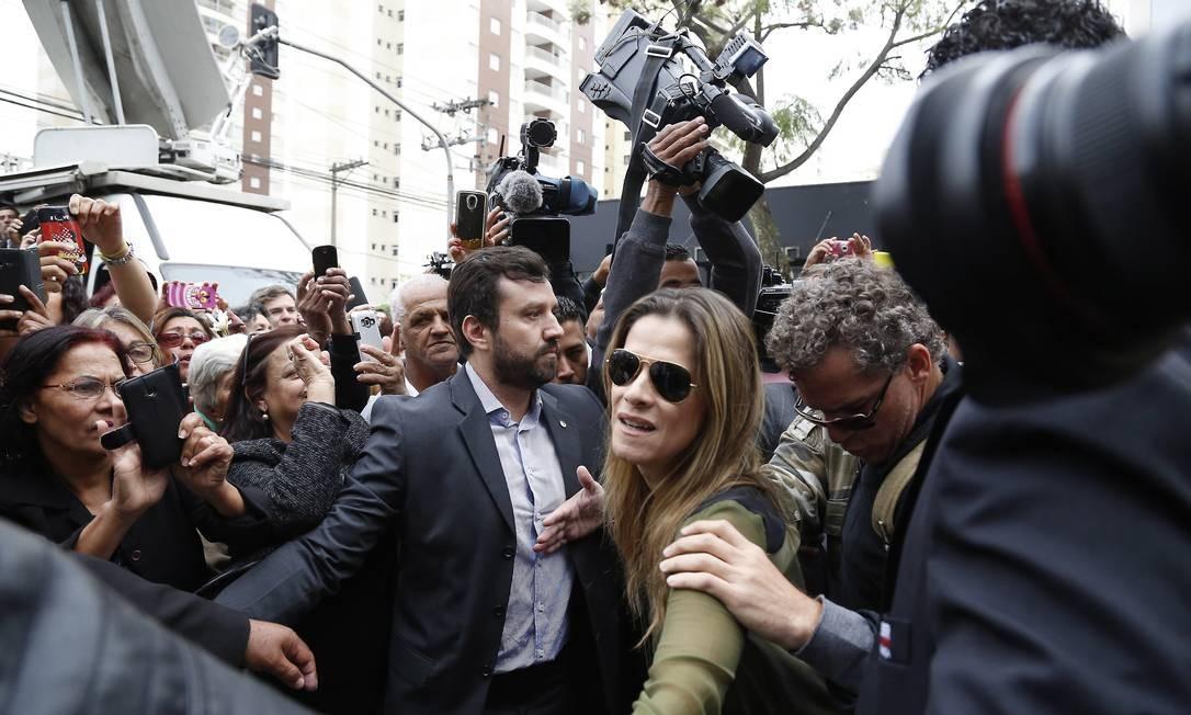 """Ingrid Guimarães contracenou com Montagner no filme """"Um namorado para minha mulher"""", em cartaz nos cinemas Agência O Globo"""