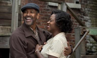 Denzel Washington e Viola Davis em 'Fences' Foto: Divulgação