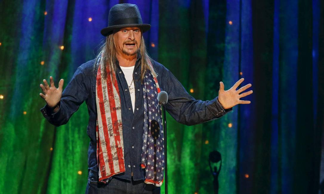 O cantor e compositor Kid Rock Foto: Eduardo Munoz / Reuters