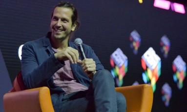 Vladimir Brichta fala sobre novo filme durante a Comic Con Experience 2016 Foto: Daniel Deak / Divulgação