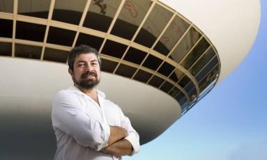 Marcelo Velloso, novo diretor do MAC. Foto: Mônica Imbuzeiro / Agência O Globo