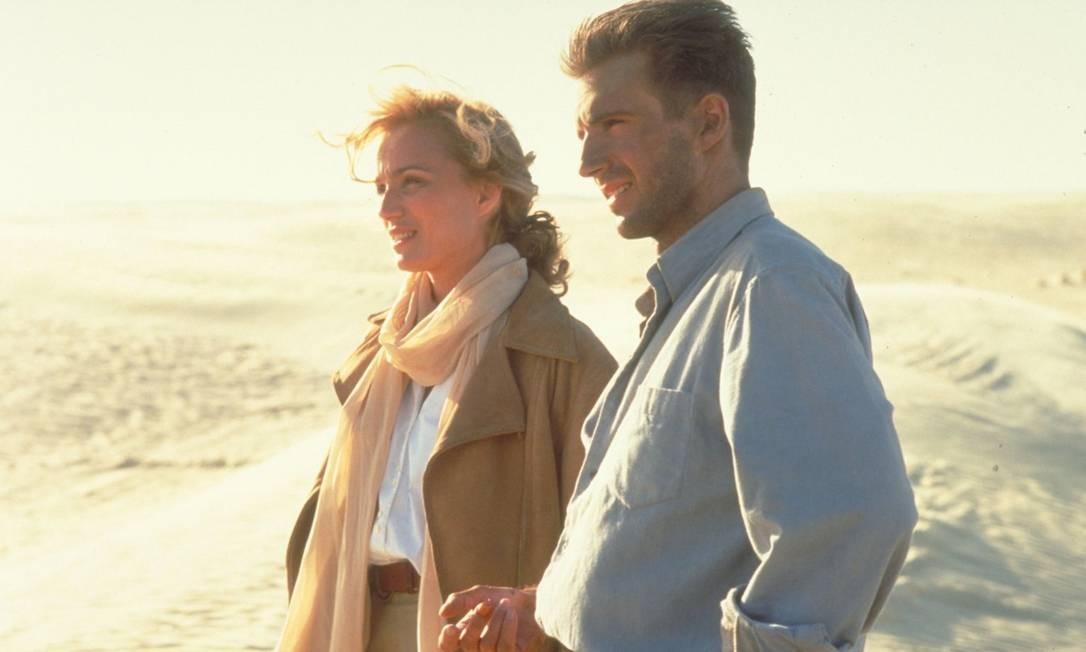 O longa de 1996, estrelado por Ralph Fiennes, Juliette Binoche e Willem Dafoe, também faturou nove estatuetas nas categorias de melhor filme, atriz coadjuvante, diretor, fotografia, figurino, direção de arte, montagem, som e trilha sonora Foto: Divulgação