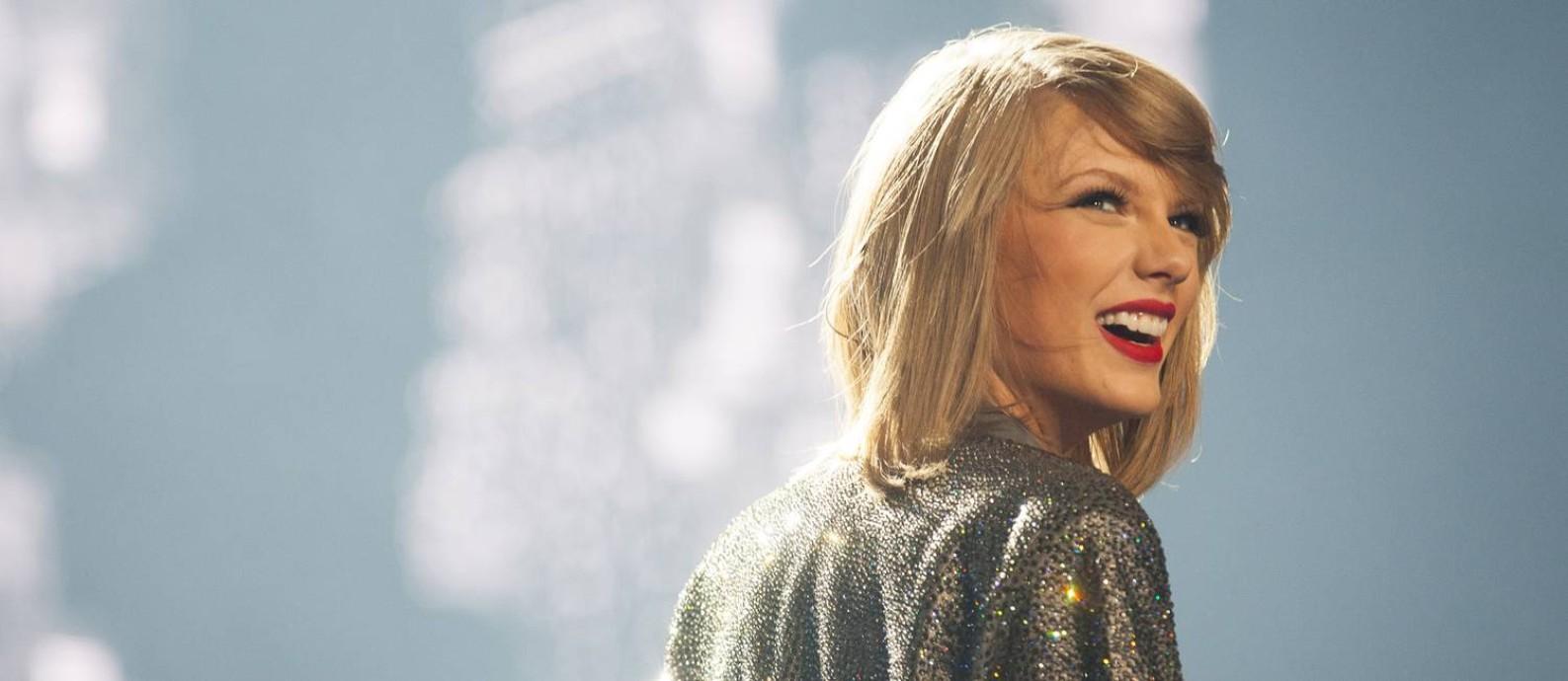 A cantora Taylor Swift Foto: Ben Sklar