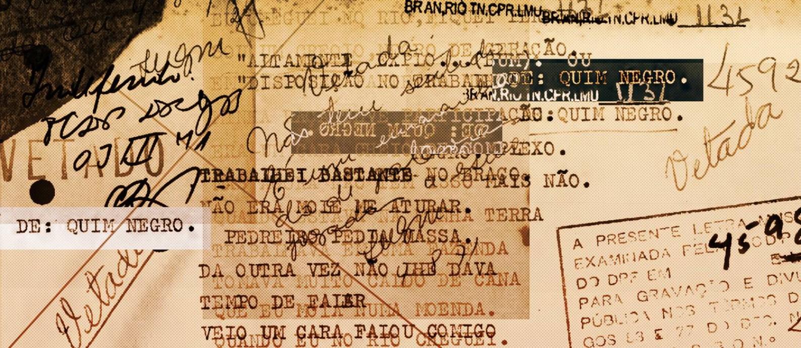 Quim Negro enviou 108 músicas para avaliação da censura em 1971 e 1972, dos quais dez foram vetados. Foto: Reprodução