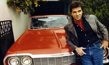 "Jerry Adriani na época do LP ""Elvis vive"" (1990) Foto: Guilherme Bastos / Agência O Globo"