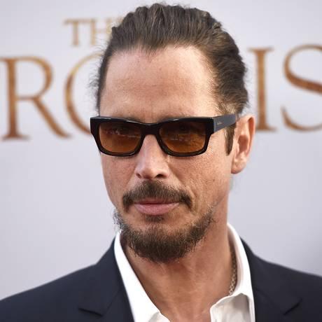 Chris Cornell no lançamento do filme