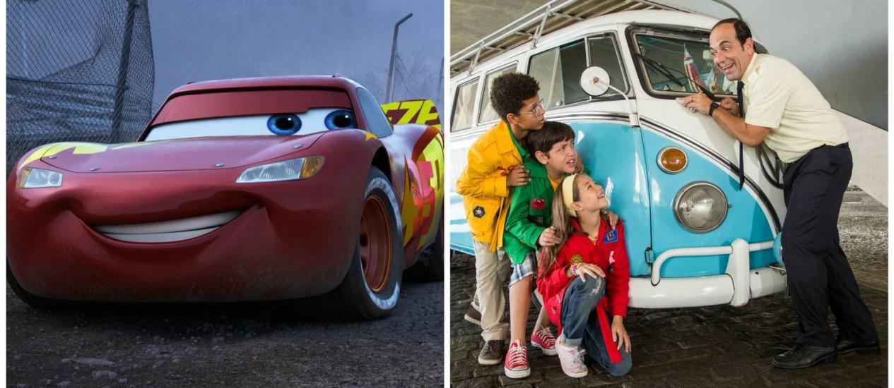 'Carros 3' chega na frente de 'D.P.A. - O filme' nas bilheterias brasileiras Foto: Divulgação