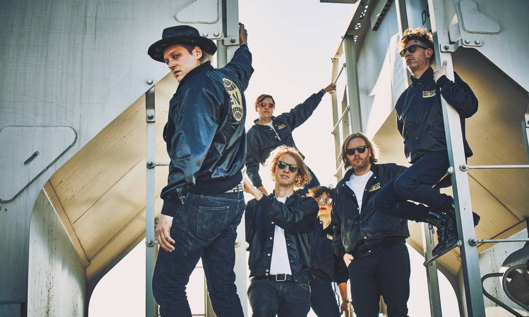 Indicado ao Oscar e vencedor do Grammy de melhor álbum, Arcade Fire deixou a cena indie para virar uma das maiores bandas do mundo Foto: Guy Aroch / Divulgação