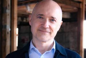 Richard McGuire, autor do livro de quadrinhos 'Aqui' Foto: Divulgação