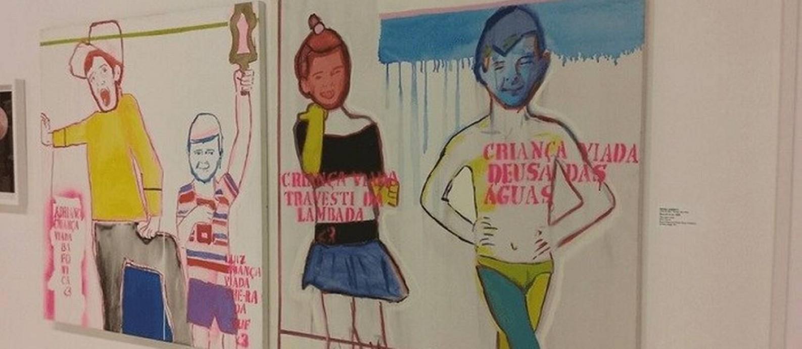 Uma das obras polêmicas da mostra Queermuseu Foto: Facebook / Reprodução