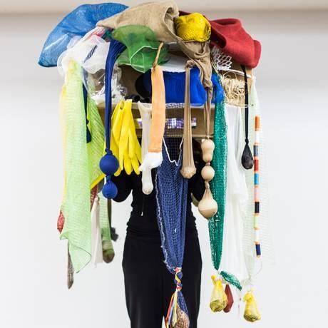 'Cabeça coletiva', proposição de Lygia Clark Foto: Divulgação
