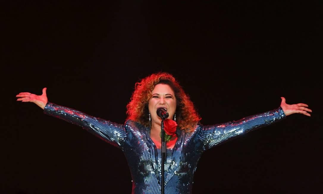Maria Rita cantou ao lado de Melody Gardot em show que homenageou Ella Fitzgerald Foto: Agência O Globo