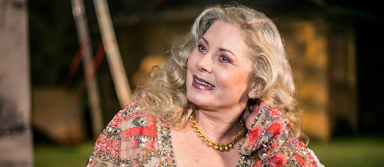 Vera Fischer estreia peça no Rio enquanto pensa se volta à TV na série 'Assédio' Foto: divulgação