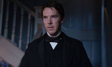 Benedict Cumberbatch como Thomas Edison em 'The current war' Foto: Divulgação