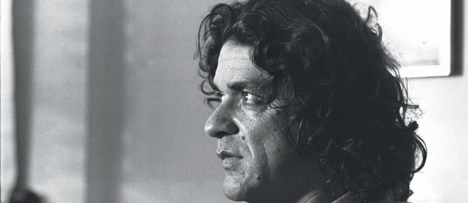 Vianinha em retrato de de junho de 1973 Foto: Arquivo O Globo