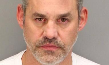 Nicholas Brendon foi preso no dia 12 de outubro por violência doméstica Foto: Departamento de polícia de Palm Springs
