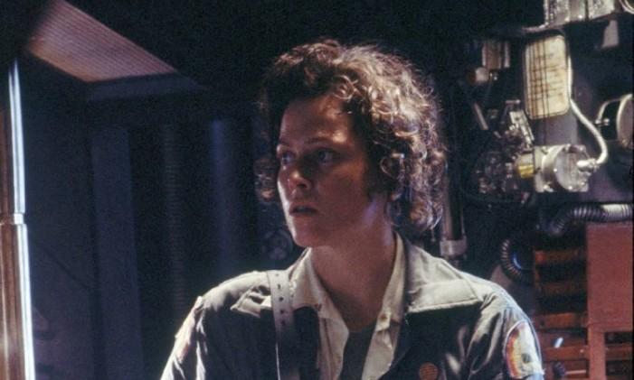 Jones, o gato de Ripley (na foto) sobreviveu ao encontro com o Alien Foto: Reprodução
