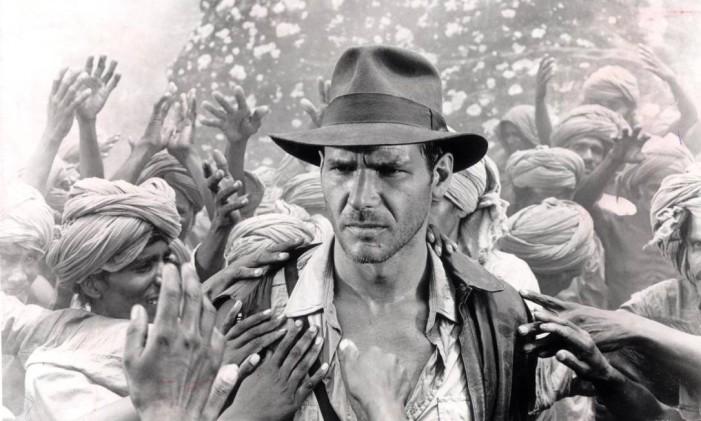 """Harrison Ford em """"Indiana Jones e o Templo da Perdição"""" Foto: divulgação"""